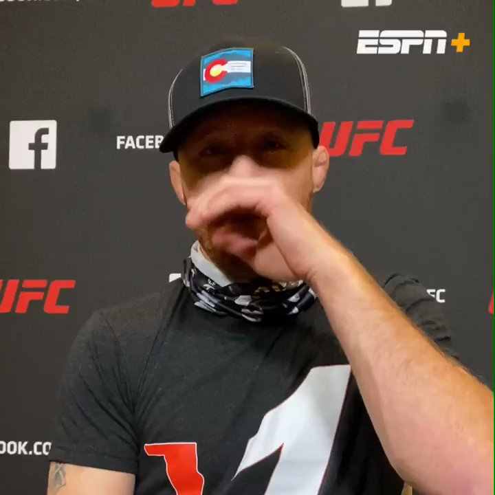 Watch @Justin_Gaethje this Saturday at #UFC254 at 2pm ET live on #ESPNPlus  #AskGaethje https://t.co/4iMwnMJxy1