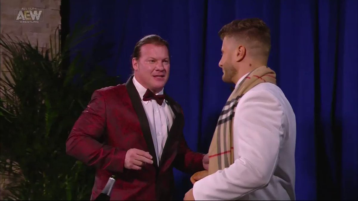 Wrestling segment of the year.  #AEWDynamite: The Musical https://t.co/vLJ3MSXsIT