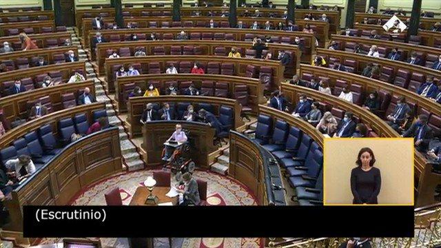 Twitter Congreso. ❌ El Pleno rechaza la #MociónDeCensura ...: abre ventana nueva