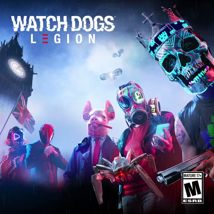 Watch Dogs Legion On Twitter 1 Week Until Watchdogslegion Launches Who Are You Excited To Play As