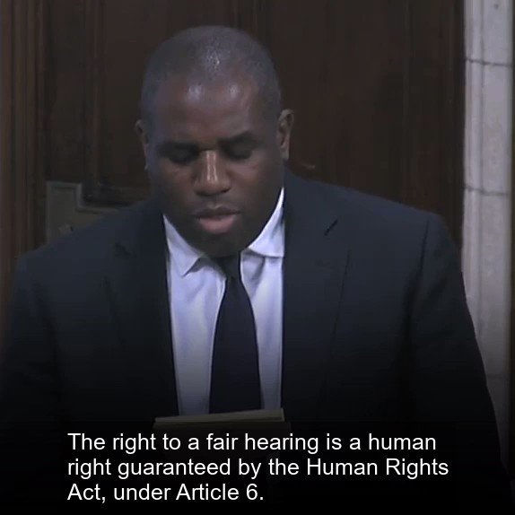 The right to a fair hearing is a human right. We need to restore legal aid.
