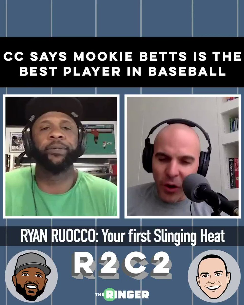 CC has a new best player in baseball. From the latest @R2C2. Out today on @spotify or wherever you get your podcasts. @ringer