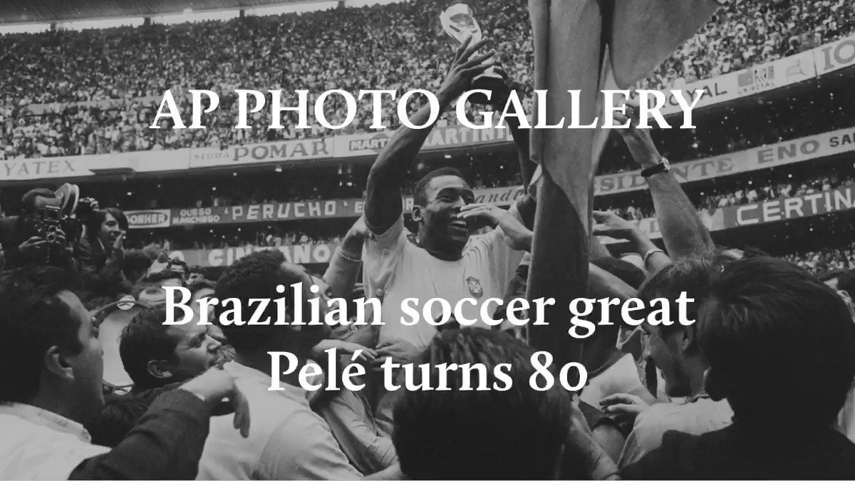 RT @AP_Sports: Brazilian soccer great Pelé recently turned 80.  See AP's full photo gallery: