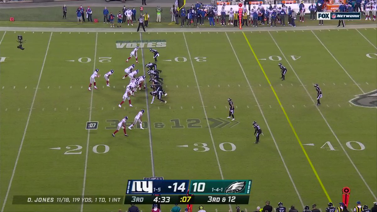 Image for the Tweet beginning: FLIPPED.  📺: #NYGvsPHI on NFLN/FOX/PRIME VIDEO 📱:
