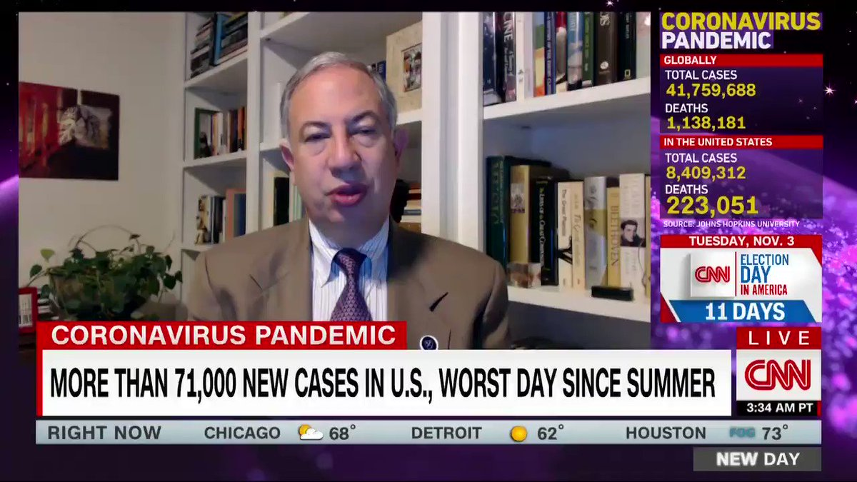 Dr. Carlos Del Rio says a coronavirus vaccine could be ready to roll out by next year, but cautions that states would need to set up sites with very specific conditions to administer it. cnn.it/3mjIVjf