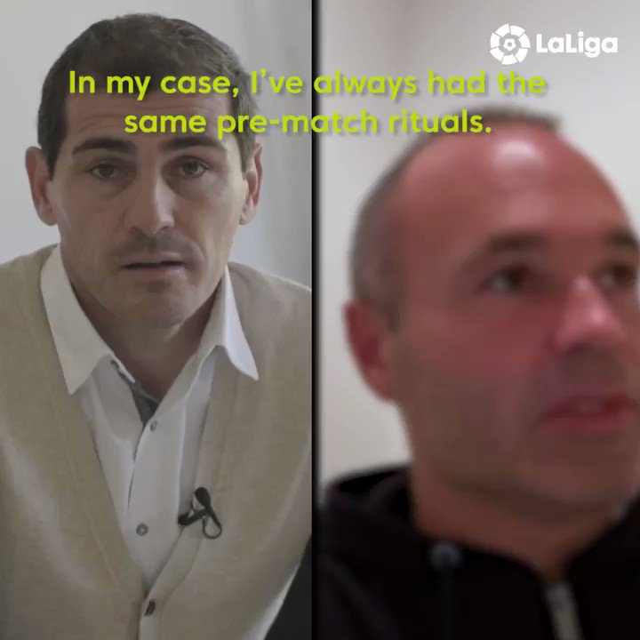 🔋 Build‐up 🤞 Superstitions 🤩 Memories 🔮 Predictions 🍿 Plans for the match  ✨ @IkerCasillas and @andresiniesta8 talk all things #ElClasico ahead of tomorrow's clash!  #LaLigaIcons