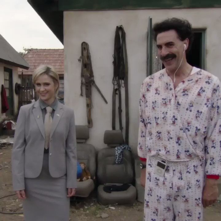 Borat said death to the patriarchy, tell your family members at Thanksgiving.