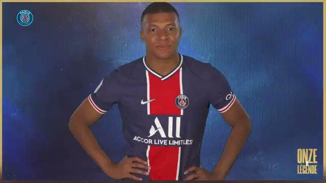 ¡Este es el XI de leyenda del ❤️💙 que eligió @KMbappe por los 5️⃣0️⃣ años del club!  ¿Qué jugador crees que no debería faltar? 🧐