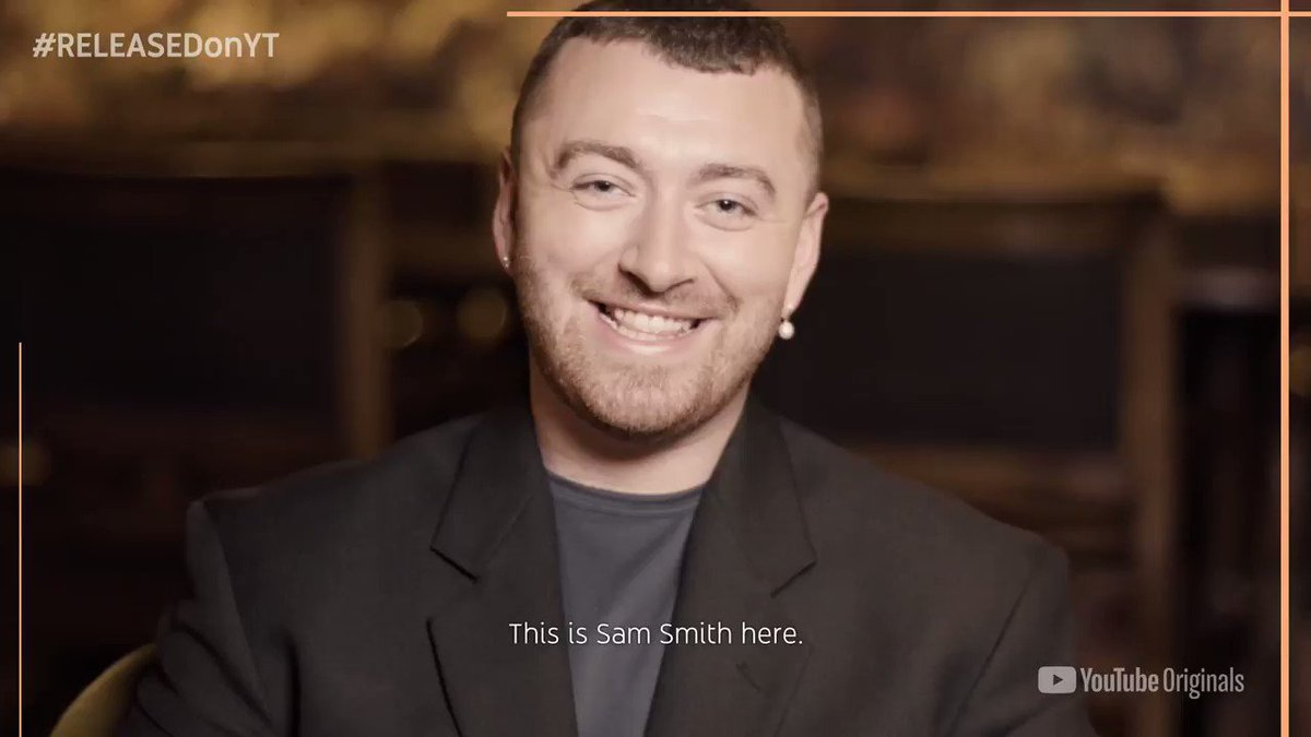 Were going behind the scenes with @samsmith on this weeks episode of #RELEASEDonYT! Set a reminder to tune in on Thursday at 11:45pm ET → yt.be/releasedsamsmi…