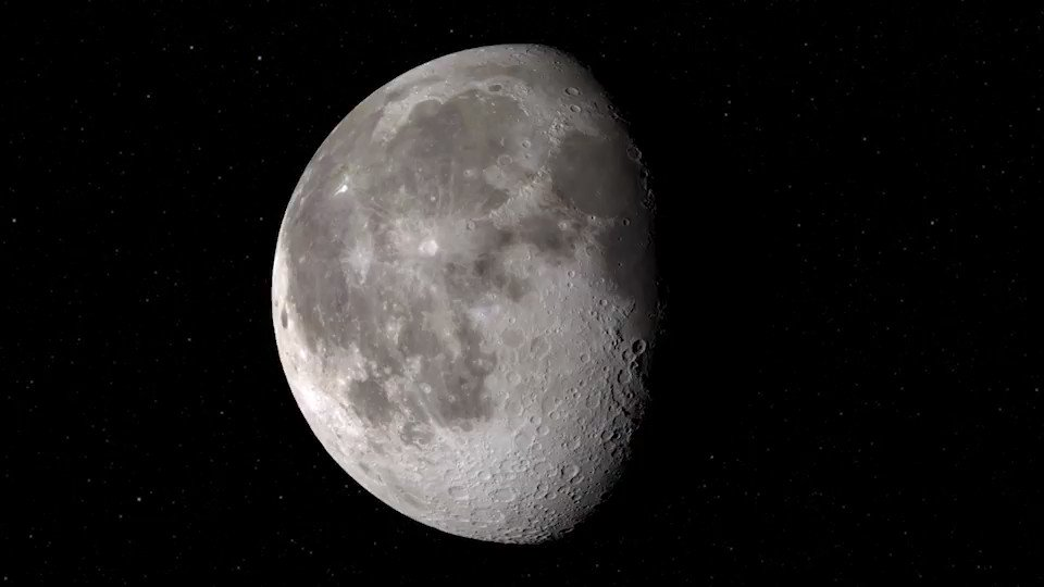 🌖 We detected water on the sunlit lunar surface! Understanding the Moon's water helps piece together the history of water in the inner solar system and also supports future human space exploration. Details: go.nasa.gov/3mtoeRJ