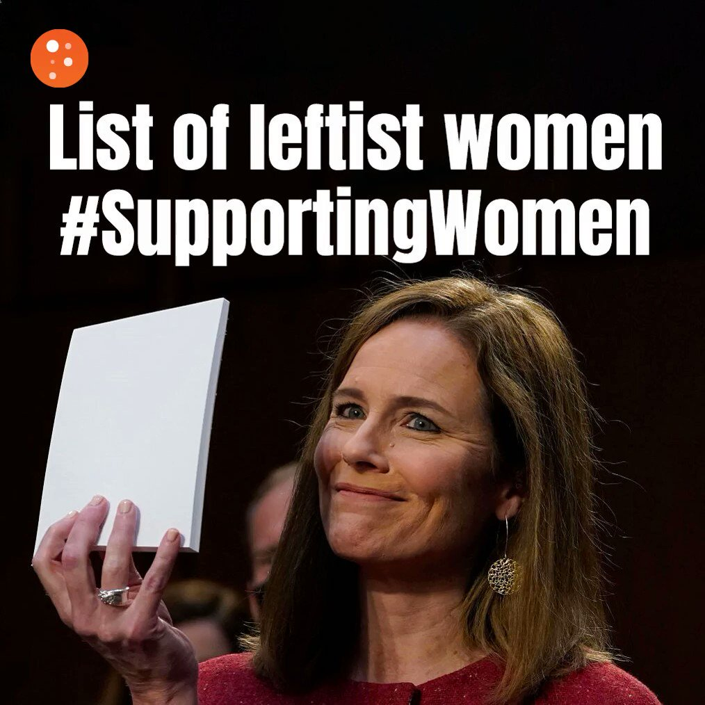 """Image for the Tweet beginning: The """"Women Supporting Women"""" crowd"""