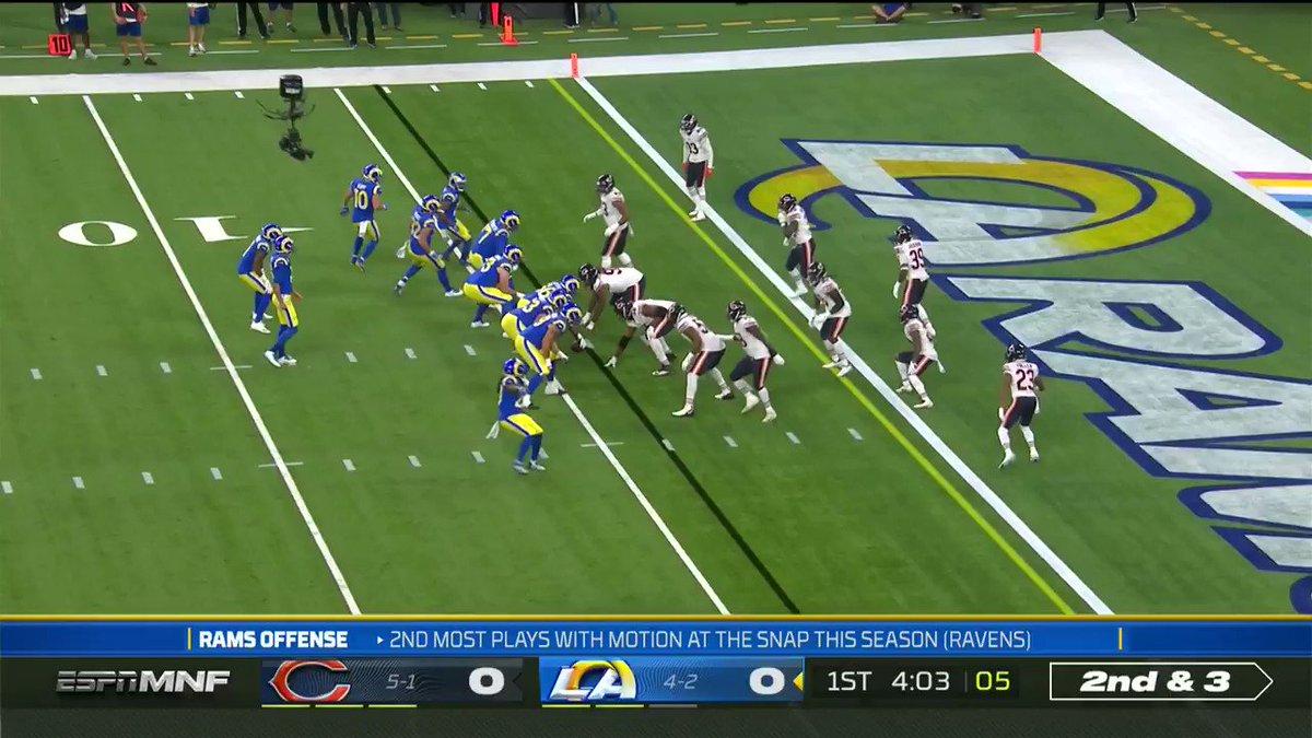 Josh Reynolds getting things going tonight 🔥   (via @NFL)    https://t.co/lzMDa8EppS