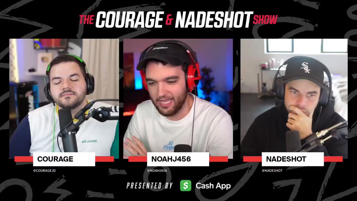 Image for the Tweet beginning: We know @NoahJ456 is the