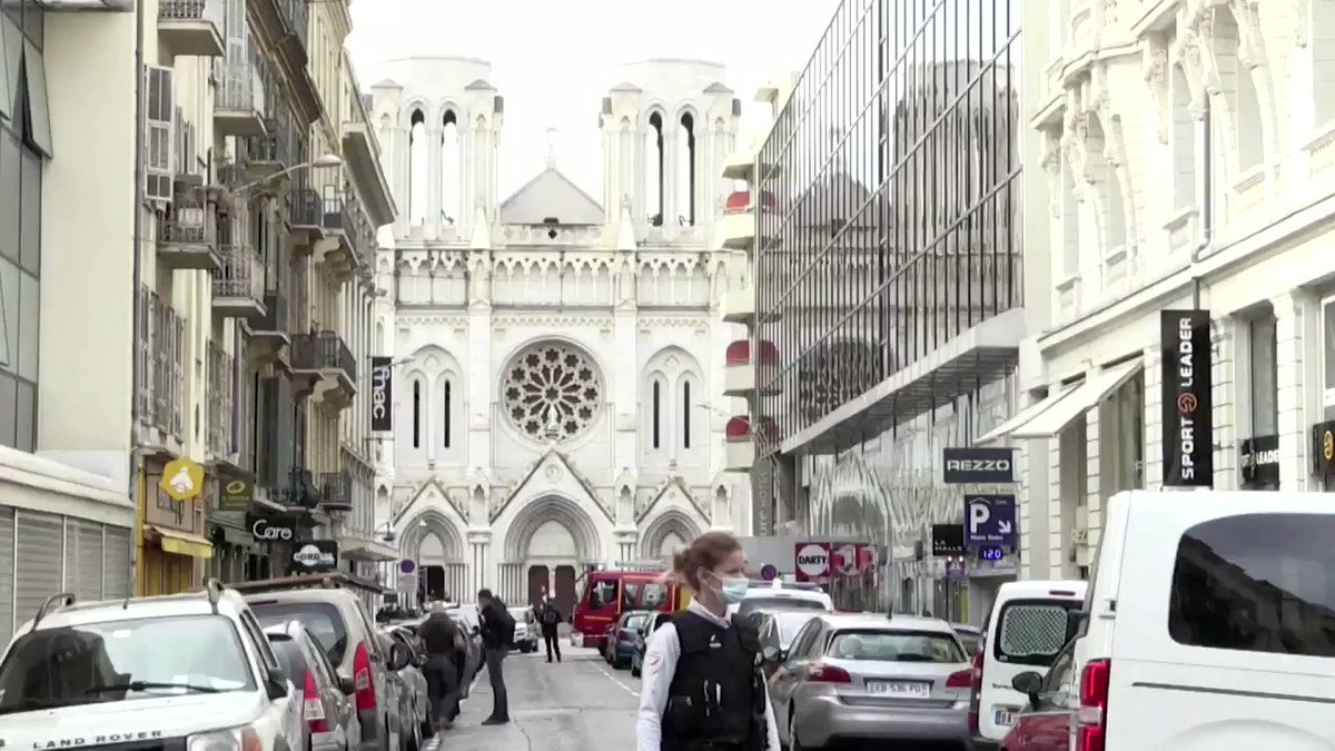 A woman was beheaded and two others were killed in what police and officials say was a suspected terrorist attack at a church in the southern French city of Nice https://t.co/aymeHEBlTl https://t.co/rSeRZ0h8I8