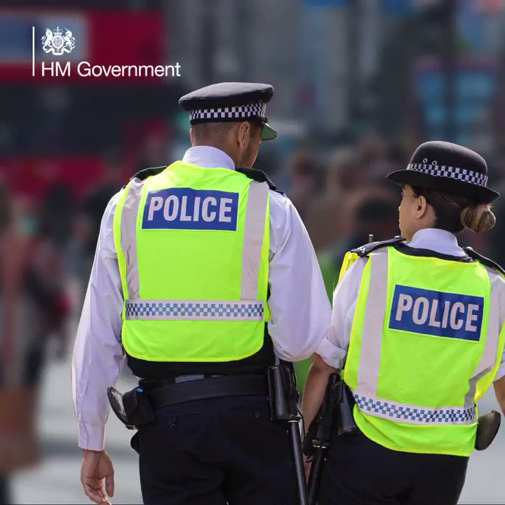 Brilliant news that we have recruited an extra 5,824 police officers in the last year. Were on track to hit our target of 6,000 by March 2021 & 20,000 over the next 3 years. I'm committed to keeping our streets safe & supporting our police is at the heart of that commitment.