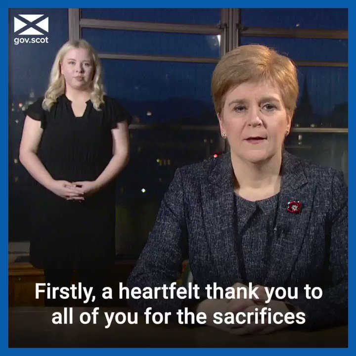 Today FM @NicolaSturgeon confirmed which #coronavirus protection levels will apply across Scotland from 6am on Monday 2 November. Find out which level will apply to your area at gov.scot/coronaviruslev…. Watch her message and heartfelt thank you to the people of Scotland ⬇️