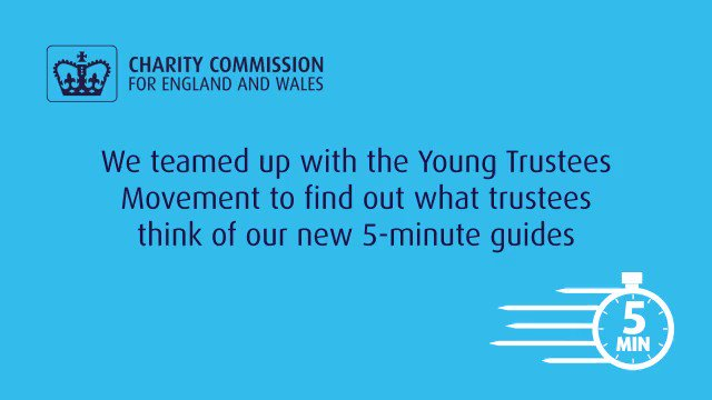We need more young trustees involved in the Local Voluntary Sector #youngtrustee #vcs