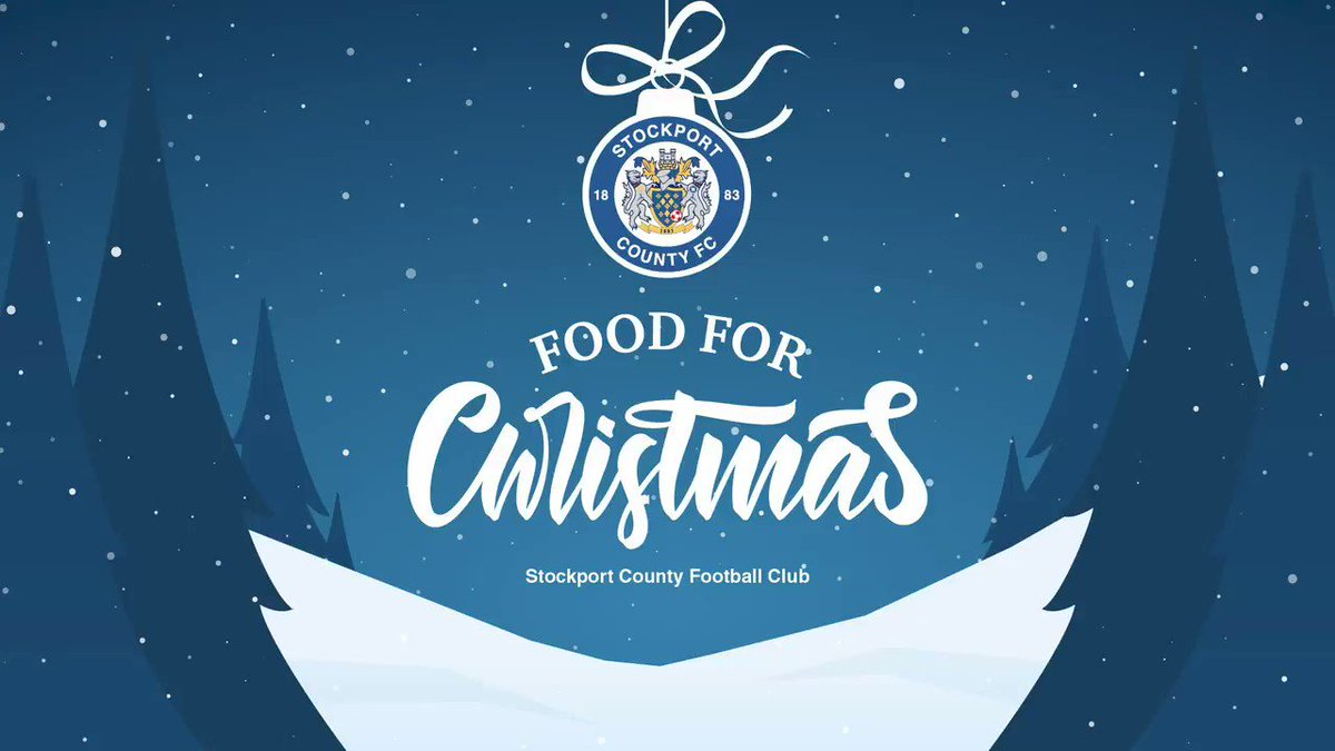 We are delighted to announce the launch of our Food for Christmas campaign, to provide meals to children in Stockport over the two-week Christmas break.  Click below for more info on how you can help us reach our £220,000 target. @MarcusRashford  👉