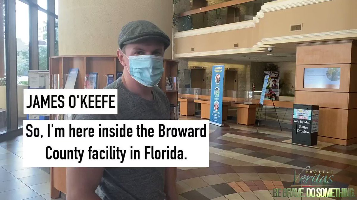 James O'Keefe: Broward County Supervisor of Elections Reveals Republican Turnout Is Up