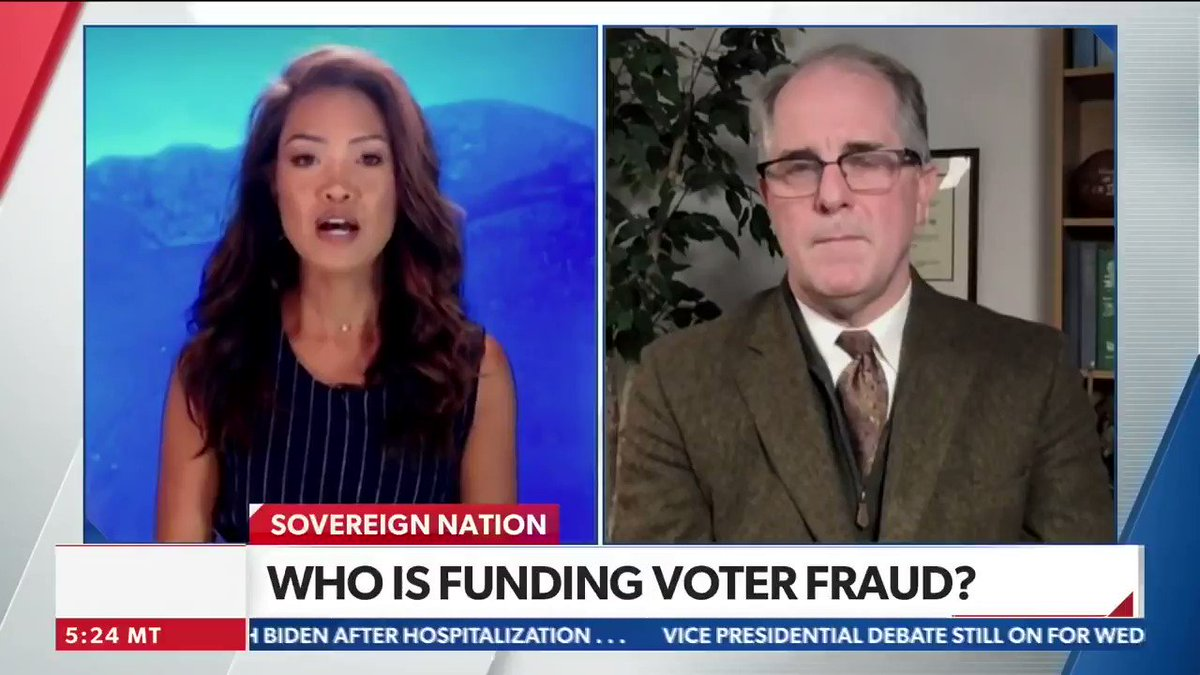 #ThrowbackThursday CTCL/Zuckerberg hijacked our election system w/$350 million payoff to Democrat machine nationwide. @PhillDKline & #AmistadProject blew the whistle BEFORE Election Day. From #sovereignnation on @newsmax 10/3/20: