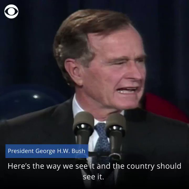 Here's how the last one-term president, George H.W. Bush, conceded cbsn.ws/3p4kus5