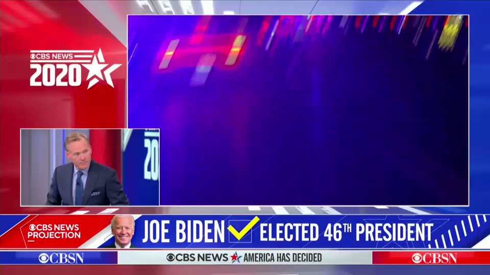 """.@gayleking on the celebrations of Joe Biden's victory: """"It's like the country is having a nationwide block party...You feel it. The joy is palpable out there."""""""