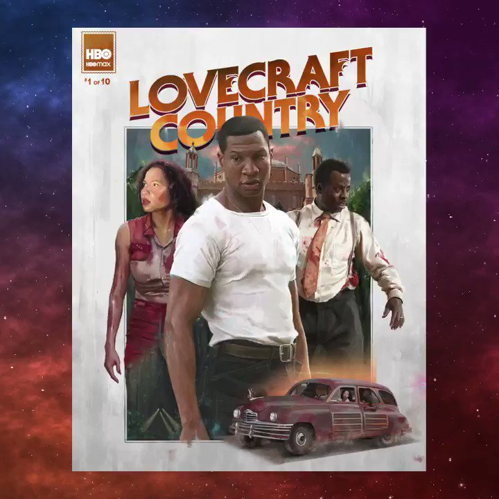 Put the #LovecraftCountry cover art in the Met. Learn more about how @El_Cesart, @tajfrancis, and Salena Barnes translated #LovecraftCountry into unique works of art at hbo.com/lovecraft-coun….