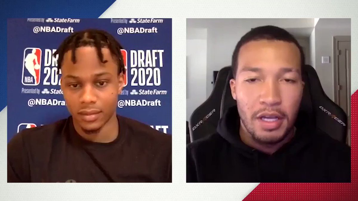 Newest member of the @cavs... get to know #5 pick Isaac Okoro (@isaacokoro303) as he sits down for 20 questions with @jalenbrunson1! https://t.co/CArgaGo6oF