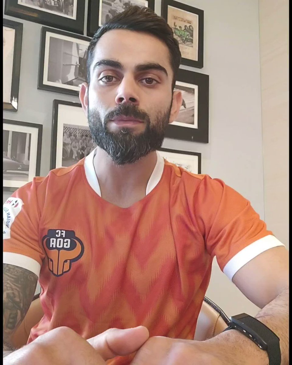 .@imVkohli is as stoked as all of you about the club partnering with @RBLeipzig_EN! 🤩  Thank you, Captain, for the warm wishes. 🧡  #RiseAgain #DreamsStartHere
