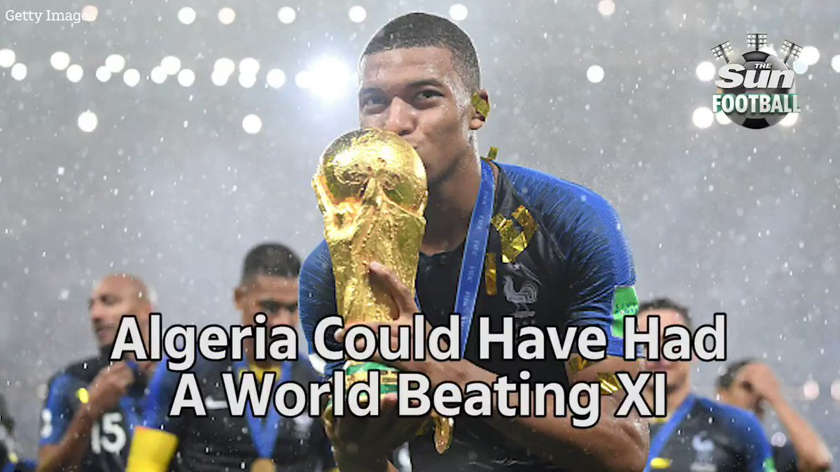 Mbappe 😲  Benzema 🤯  Algeria could have had a world beating XI