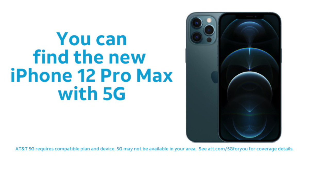 "Help us spread the word for iPhone 12 Pro Max for a chance to win a $500 Reward Card!  RT or reply to this post by 11/16/20 And include ""find it on "" #iphone12promax #attexplore and #sweepstakes  No purchase necessary. Rules:"