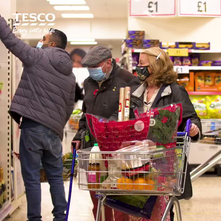 Providing food for people in our communities is more important than ever. Donate a tin, packet, box or jar at Tesco stores from 19-21 Nov, and we'll top up your donation by an extra 20%. Together with @FareshareUK and @TrussellTrust, we can help make a difference. #EveryCanHelps