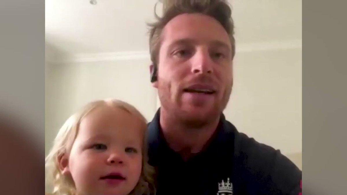 ICYMI: England cricketer @josbuttler's daughter interrupts his virtual interview https://t.co/iER0CX5nFl