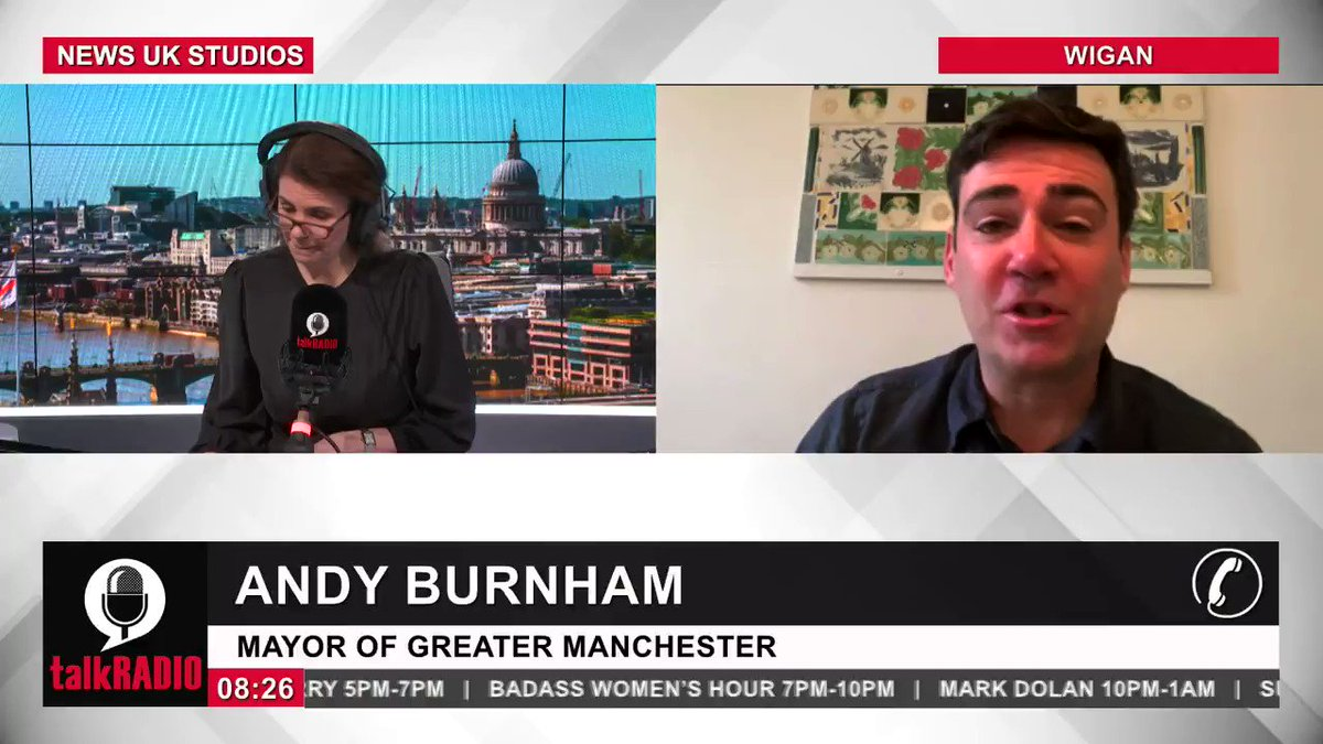 Mayor of Greater Manchester Andy Burnham calls on the government to show basic humanity and help the three million people excluded from coronavirus financial support. Watch the show ► youtu.be/7EQBm49xOmk @JuliaHB1   @AndyBurnhamGM   @MayorofGM