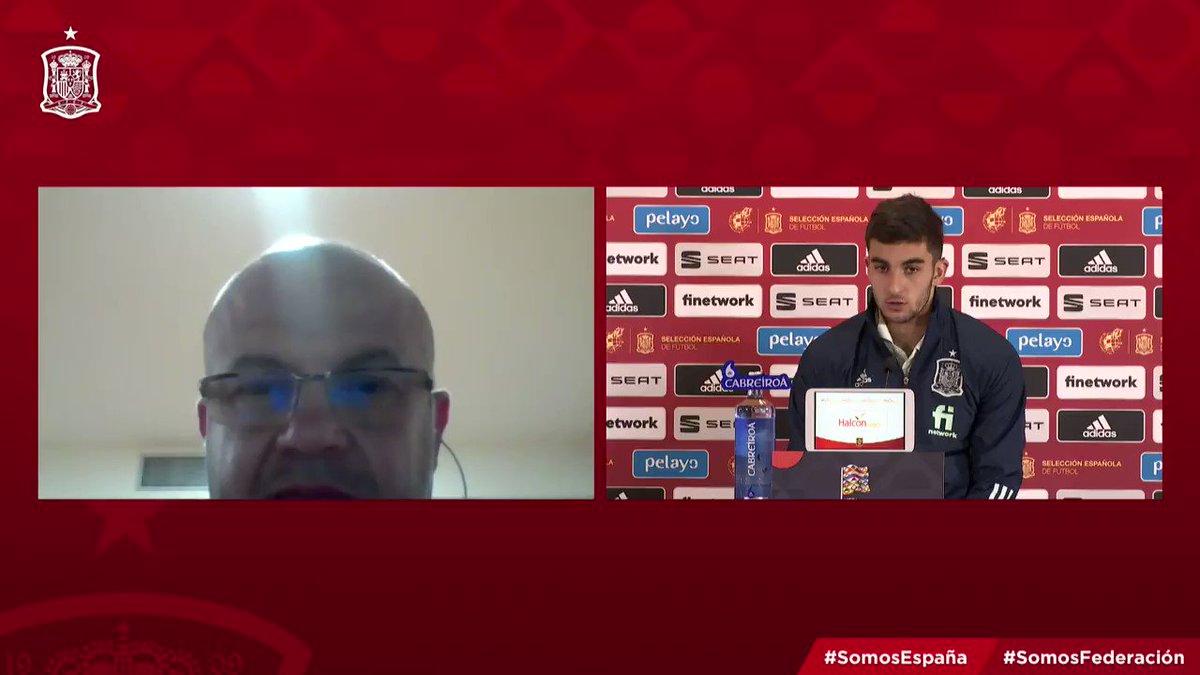 """🗣️ @FerranTorres20: """"Alemania es una de las mejores selecciones a nivel mundial y es verdad que el equipo ha planteado muy bien el partido"""".  ➡️ """"Hemos salido a comernos el césped"""".  #SomosEspaña  #SomosFederación"""