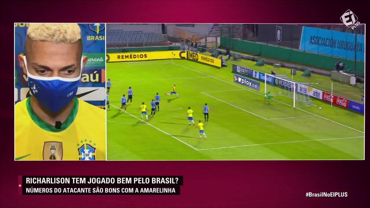 PARABÉNS, RICHARLISON! O atacante da Seleção se posicionou e dedicou o gol ao povo do Amapá, que vem sofrendo com apagões. Força a todos! 👏❤️