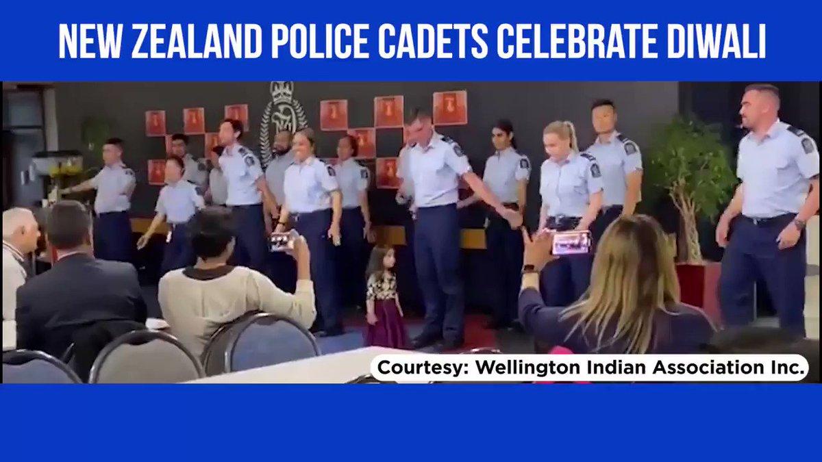 WATCH - When New Zealand Police celebrated #Diwali with 'Kala Chashma'
