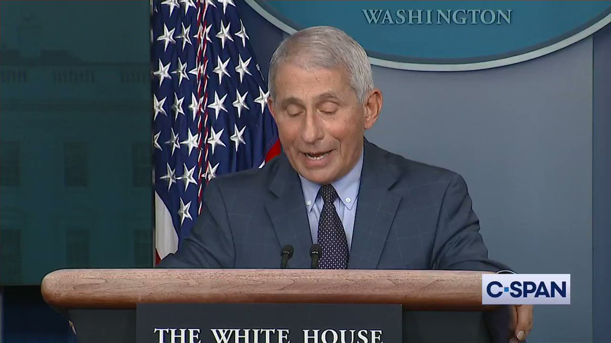 Dr. Anthony Fauci: 'Help is on the way...' Full video here: cs.pn/2UFqbyT