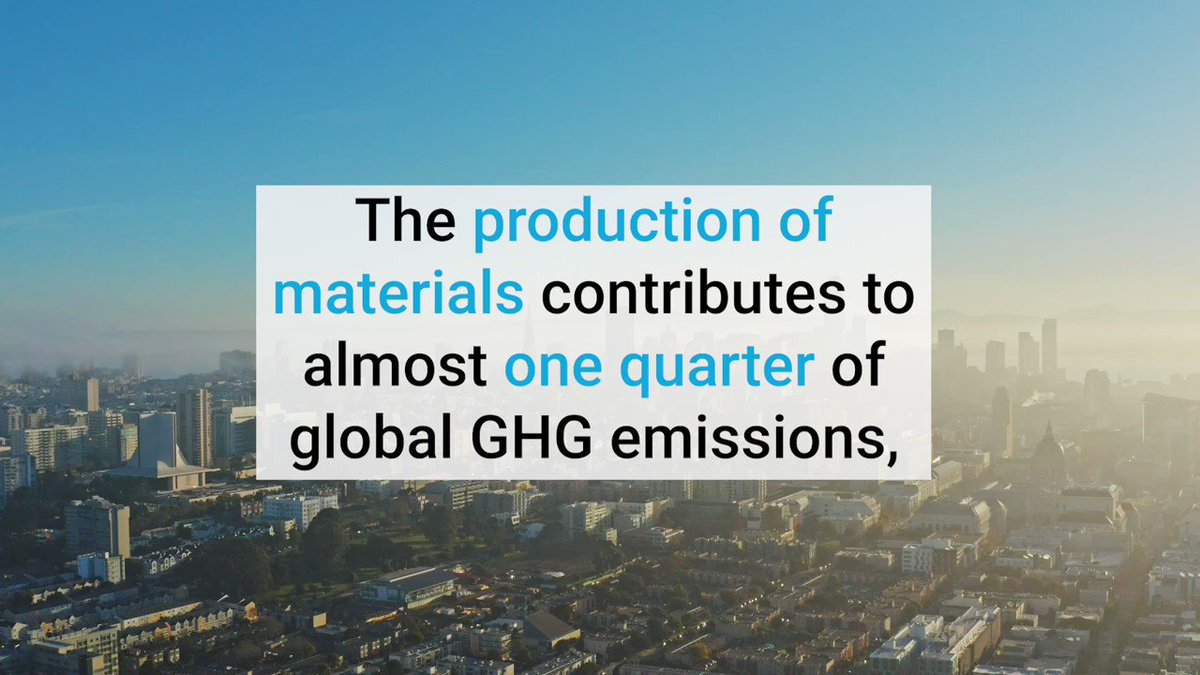 Strategies to increase the efficient use of material in carbon-intensive sectors (e.g. homes and cars) are key in the #RaceToZero. @UNEP is on the ball