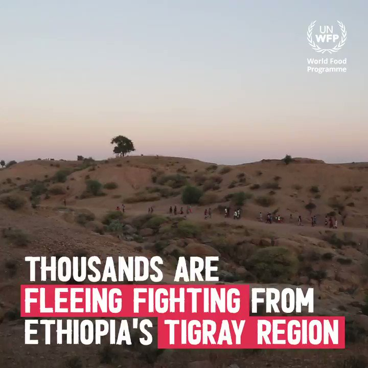 The conflict in the #Tigray region of #Ethiopia has forced more than 30,000 people to flee across the border into Sudan.  WFP is calling for US$24.6 million to meet the immediate needs of Ethiopian refugees.  🗞️ Read more: