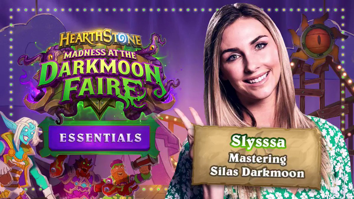 PlayHearthstone - Ready, set, rotate! 🔄 🤪 🔄  @Slysssa shares some great tips for playing Silas Darkmoon in both Battlegrounds and Standard: