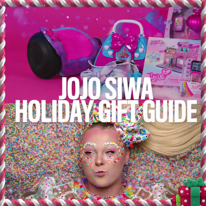 It's time to celebrate! We're sharing @itsjojosiwa top gifts you don't wanna miss this holiday! Shop now: