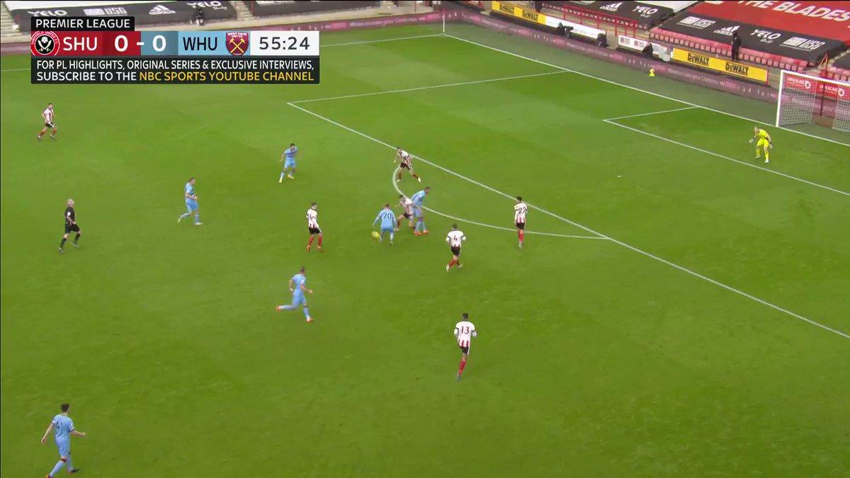 Sebastian Haller's rocket against Sheffield United 🚀  🎥: @NBCSportsSoccer