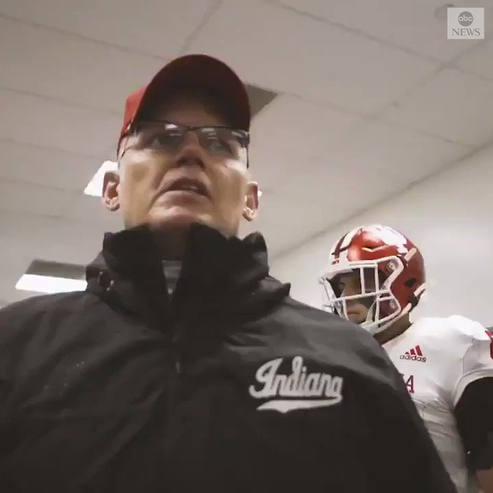 """You got character! You got something to you!""  Indiana Football's head coach Tom Allen's stirring post-game speech after coming up short against the Ohio State Buckeyes went viral, as he expressed his pride in the team—win or lose."