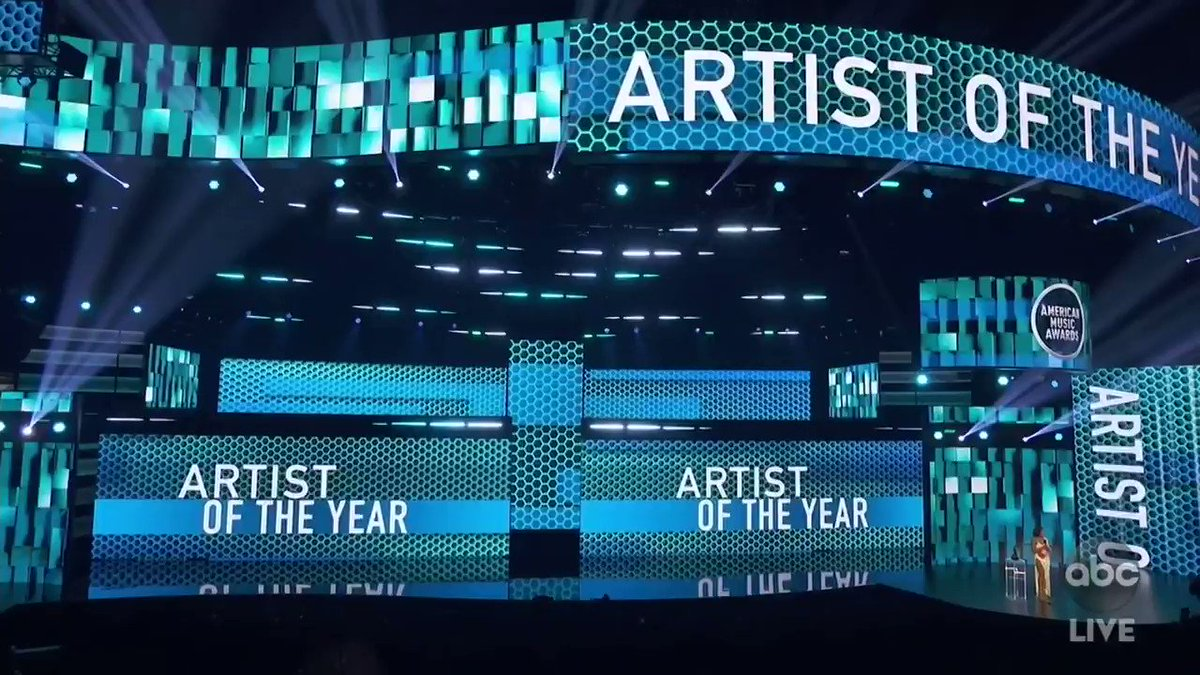 BIG congratulations to @taylorswift13! Shes taking home the award for Artist of the Year! #AMAs