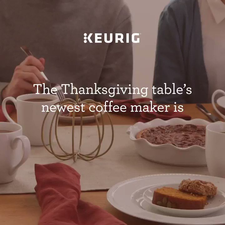 Enjoy $40 off the NEW Keurig K-Supreme brewer. It's the perfect #WeGift, a gift for the whole Thanksgiving table. Available at select retailers while supplies last. Offer expires December 6th.