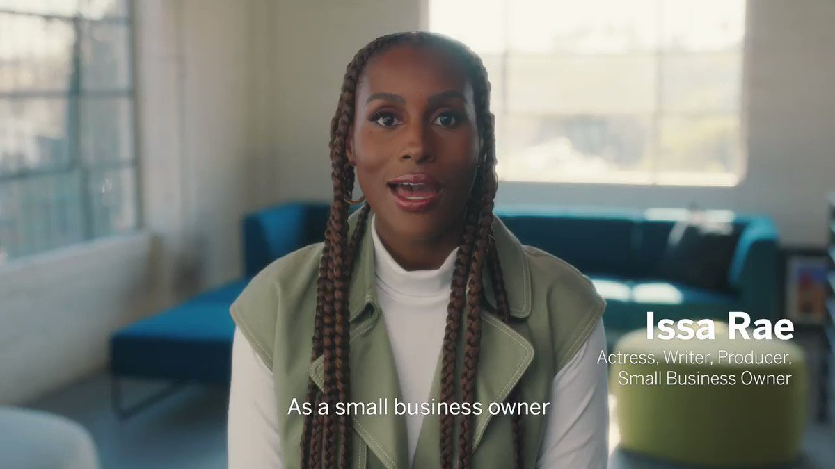 In celebration of #SmallBizSat join us & @issarae to shout out your favorite small businesses & share what you love about them. It's that simple to Share Joy & #ShopSmall