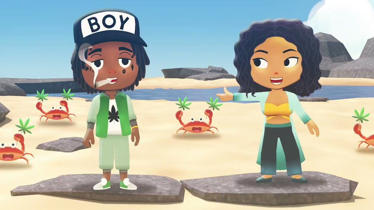 """.@jheneaiko and @wizkhalifa go on a worldwide adventure as video game characters in """"Down Again,"""" off Jhené's #Chilombo album 🎮 ⠀⠀⠀⠀⠀⠀⠀⠀⠀ ▶️"""