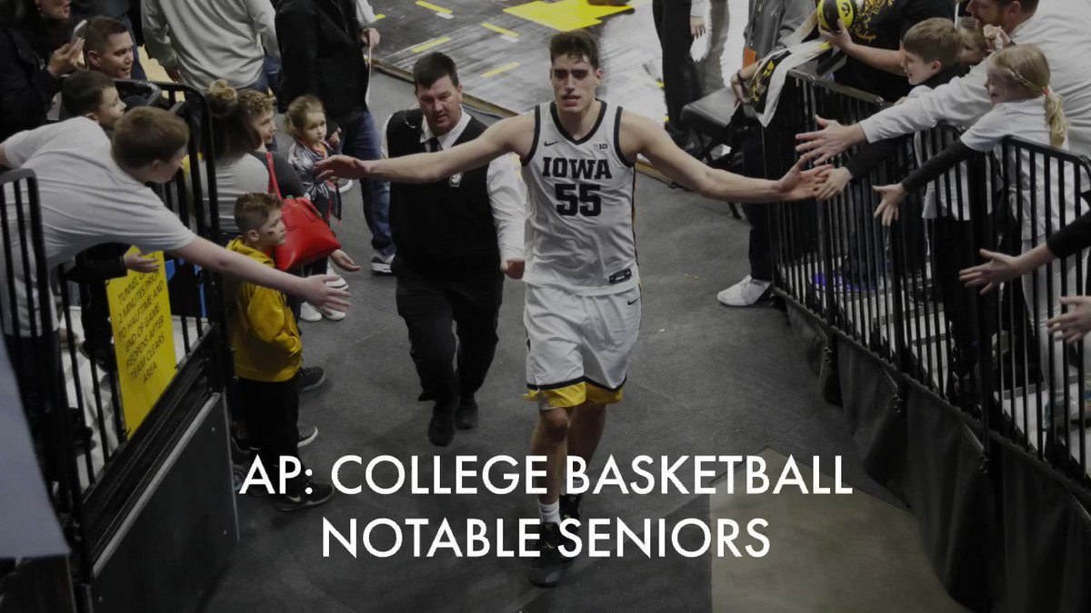 After boosting his stock with an outstanding junior season, Iowa forward Luka Garza heads the list of star seniors gearing up for the 2020-21 college basketball campaign.  By @stevemegargee >>