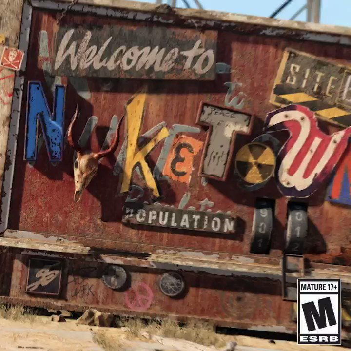 ☢️ Nuketown '84 is NOW LIVE. ☢️  #BlackOpsColdWar
